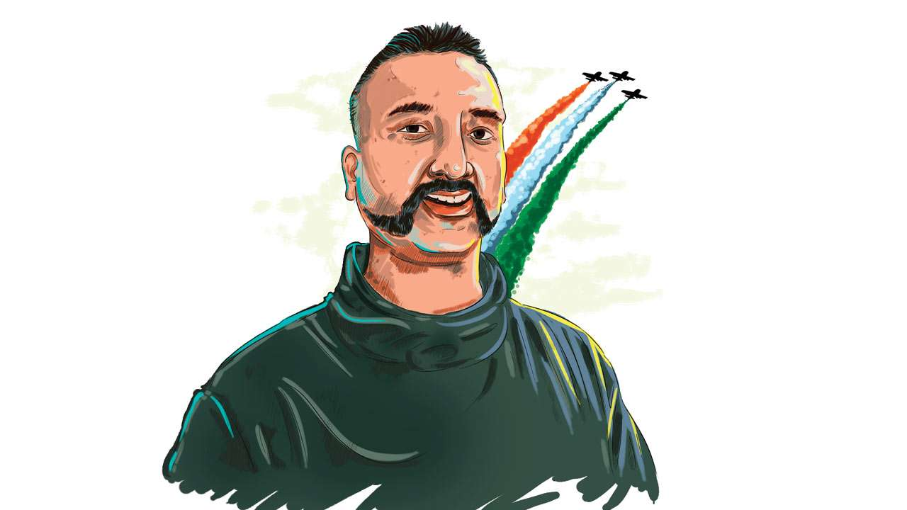 abhinandam back in India