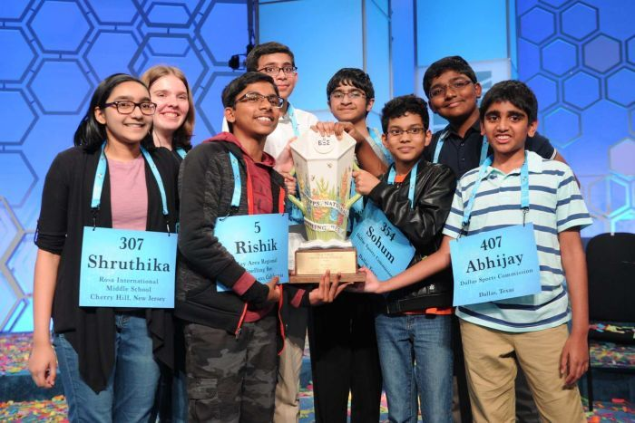 indians win spelling bee