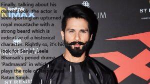 shahid beard